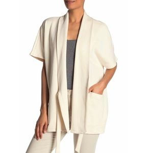 Eileen Fisher Drape Neck Wrap Jacket